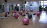 большой фитнес зал